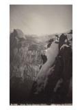 Vue générale de Glacier Point  Yosemite