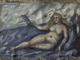 Femme nue au miroir