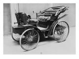 Album photographique : Automobile vis-à-vis à essence Peugeot-Panhard 1893
