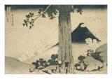 Le col de Mishima dans la province de Kai