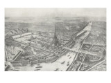 Vue g&#233;n&#233;rale de l&#39;Exposition Universelle de 1889
