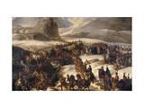 Passage du Grand Saint-Bernard par l'armée française le 20 mai 1800