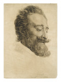 Portrait de Henri IV  d'après le baron Gérard