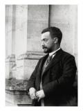 Portrait d'archéologueSalomon Reinach (1858-1932) Portrait en buste sur un balcon du musée des