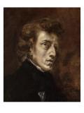 Portrait de Frédéric Chopin (1810-1849)  musicien