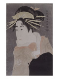 Portrait de l&#39;onnagata Matsumoto Yonesabur&#244;
