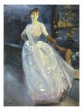 Portrait de madame Roger Jourdain  femme du peintre