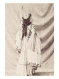 Portrait de Loïe Fuller (Marie-Louise dite)  artiste américaine de music-hall (1862-1928)
