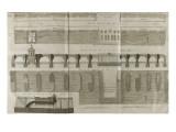 Planche 160 : Plan   élévation et élévation du Pont-Neuf à Paris