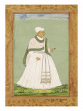 Portrait of Akana  Minister of the Shah of Golconda