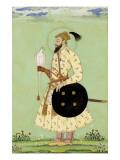 Portrait du prince Mohammed Uu Azzam Shah Alem