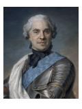 Portrait de Maurice comte de Saxe (1696-1750)  maréchal de France
