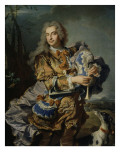 Portrait du pr&#233;sident Gaspard de Gueidan en joueur de musette