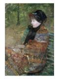 Portrait de Mademoiselle C Lydia Cassatt