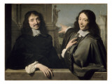 Portrait de deux hommes (autrefois F Mansart et Ch Perrrault)