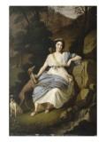 Portrait de la comtesse de Provence en Diane