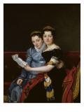 Portrait de Zénaïde et de Charlotte Bonaparte