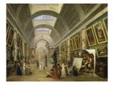 Projet d'aménagement de la Grande Galerie du Louvre en 1796