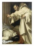 Saint Bernard ressuscitant un mort