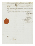 Purchase Deed by Joseph Bonaparte of Milelli Domains