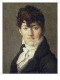 Portrait d'Auguste François Talma  enseigne de vaisseau  neveu du tragédien Talma