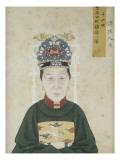 Portrait de la dame Zhu  épouse de Liu Wenyao
