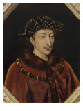 Portrait de Charles VII  roi de France (1403-1461)  dit le Victorieux