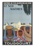 Affiche de Louis Fernez Le Sud alg&#233;rien