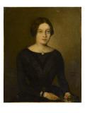 Portrait de femme en noir