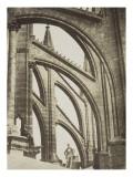 Cathédrale de Reims  arcs-boutants du chevet