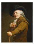 Portrait of the Artist in the Guise of a Mockingbird Giclée par Joseph Ducreux