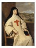 Portrait de mère Marie-Angélique Arnauld  dite la Mère Angélique (1591-1661)