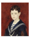 Portrait de Fernand Halphen (1872-1917) enfant