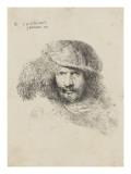 Portrait d'homme au chapeau à plume dit autoportrait