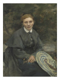 Portrait de la m&#232;re de l&#39;artiste