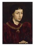 Portrait de Charles le Téméraire (1433-1477)  duc de Bourgogne