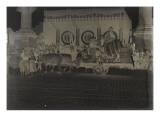 Le président Lebrun à Bordeaux pour la fête du vin  le 18 juin 1934