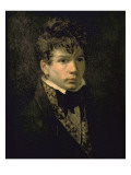 Portrait du peintre Jean Dominique Ingres  jeune
