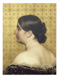 Portrait de la femme de l&#39;artiste  n&#233;e Cl&#233;mence Casadavant