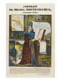 Portrait de Michel Nostradamus  astronome célèbre