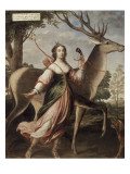 Portrait de Marie de Rohan de Montbazon  duchesse de Luynes puis de Chevreuse (1600-1679)