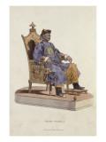 Portrait de l'empereur Qianlong assis