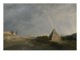 Pyramide et Arc-en-ciel