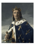 Portrait de Louis VIII (1187-1226)  dit le Lion  roi de France en 1223