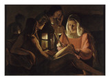 Saint Sébastien à la lanterne