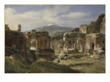 Ruine du théatre de Taormine (Sicile)
