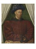 Portrait de Charles VII (1403-1461)