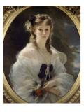 Portrait de la duchesse de Morny  née princesse Troubetzkoï