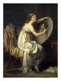 Portrait de mademoiselle Ducreux dit autrefois portrait de madame Vigée Lebrun
