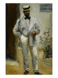 Portrait de Char Coeur (1830-1906)  architecte  frère du peintre Ju Coeur  ami de Renoir